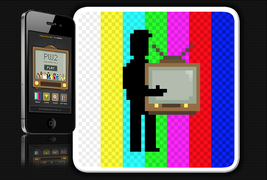 PixelWorld vol.2: TV shows!